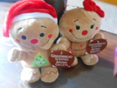 Gingerbread Couple Scented Aroma Galleta Plush - NWT!!