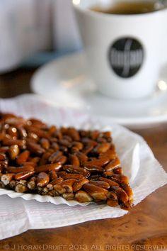 Pine nut brittle in a bakery in #Grandola, #Portugal
