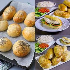 Luftiga frallor- lika goda att äta som frukostbröd eller till lunch med en god fyllning. Degen kan du förbereda redan ikväll om du vill bjuda på dessa till morgondagens frukost. Supergoda bröd som är en stor favorit på bloggen❣ Recept på brödet och förslag på en läcker tonfiskröra som passar som fyllning hittar du i länken i min profil➡@zeinaskitchen