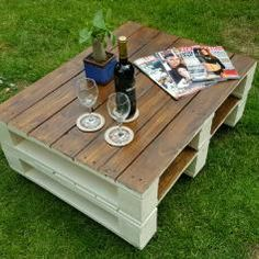 Used Reclaimed pallet coffee table