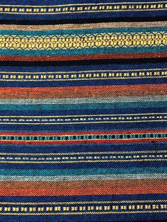 Thai Woven Fabric Tribal Fabric Cotton Fabric by the by veradashop $10/yard