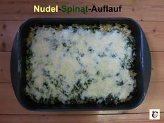Nudel-Spinat-Auflauf