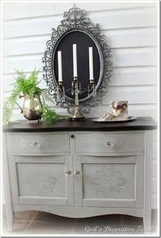 Gail's Decorative Touch: Shades of Gray