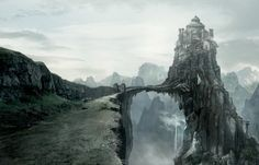 Game of Thrones concept art provides a raven's eye view of Westeros and beyond. I dont want to watch game of thrones, but this looks pretty cool! Fantasy City, Fantasy Castle, Fantasy Places, Fantasy World, Sci Fi Fantasy, Casas Game Of Thrones, Art Game Of Thrones, Game Of Thrones Castles, Landscape Concept