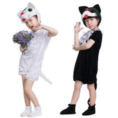 03909b4e144ff 子ども 動物 着ぐるみ コスチューム ネコ ハロウィン 衣装 子供 男   RakutenIchiba  楽天