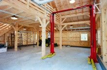Are you somebody that has a messing garage that is not prepared. Below are 42 garage storage ideas that will certainly aid you organize your garage like a champ. Pole Barn Garage, Garage Loft, Garage Shed, Garage House, Garage Plans, Garage Workshop, Garage Storage, Shop Storage, Pole Barn Shop