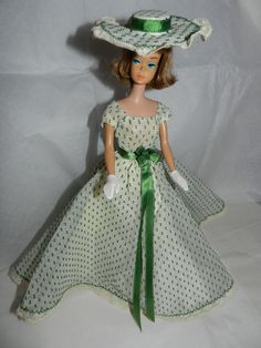 1960's Fabulous Mystery Fashion Resembles Halina's for Vintage Barbie Doll