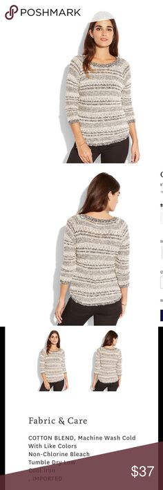 PRICE CUT✂️LUCKY🍀Brand Opal Boatneck  Sweater LUCKY 🍀 Brand Opal Boatneck Pullover Sweater in Size Medium. BRAND NEW WITH TAGS. Bundle & Save On Shipping. Lucky Brand Sweaters Crew & Scoop Necks