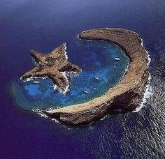 Island of Molokini - Hawaii