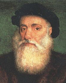 VASCO DA GAMA (Portuguese)   (c. 1460 or 1469 – 24 December 1524), was a Portuguese explorer, one of the most successful in the Age of Discovery and the commander of the first ships to sail directly from Europe to India.