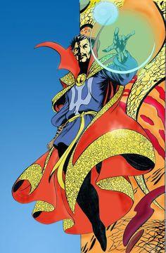 Doctor Strange by Alan Davis.