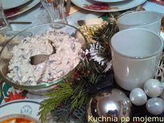 Kuchnia po mojemu: Ekspresowa sałatka pieczarkowa. Do świąteczno imprezowego jadłospisu. Sylwestrowe odliczanie czas zacząć