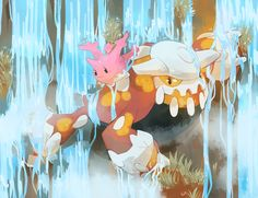 [Day 17 and 18] Corsola and Heatran by germy21.deviantart.com on @deviantART