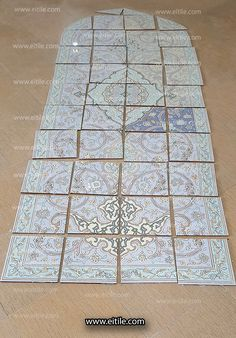 #Iranian_handmade_seven_color_tiles