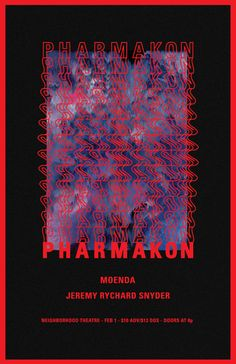 Pharmakon Poster - Dan Romanoski