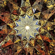 Celling of Shahe-cheragh's mosque in Shiraz,Iran - Some People Call These 'The Most Beautiful Ceiling In the World'. After Seeing It, I Have to Agree.