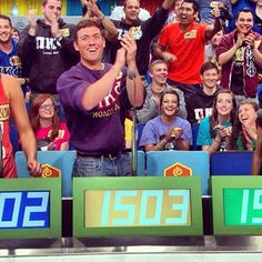 The Price is Right - Tyler from our Back To School Episode. An audience full of rowdy College Kids! It was a fun day. Tyler goes to Cal State Fullerton! Price Is Right Contestant, Cal State, Get Tickets, Back To School, It Cast, College, Fun, Kids, Children