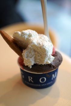 GROM.. best gelato on earth! Florence, Italy
