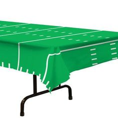 Football Field Plastic Rectangle Table Cover