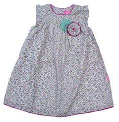 Pretty Baby Dress - Flower print in Purple - Baby Girl Dresses - Girls - Little Chickie