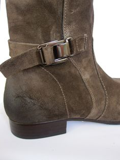 Alberto Fermanti Distressed Suede Ankle Boot