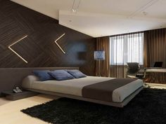 Wood Wall Panels Modern Bedroom Ideas