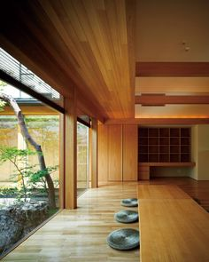 20 Classic Features Of Japanese Houses - It is so much fun decorating a Japanese style house, but it is also quite easy when you get the proper guidance. If you don't have anyone to give you some ideas or just don't … Architecture Building Design, Interior Architecture, Building Facade, Architecture Restaurant, Building Exterior, House Front Design, Door Design, Exterior Design, Facade Design