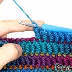 Crochet Basics, Crochet For Beginners, Diy Crochet, Crochet Crafts, Crochet Projects, Beginner Crochet, Knitting Projects, Crochet Baby, Knitting Beginners