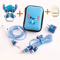 Disney Discovery- Stitch Phone Accessory Set Kawaii Accessories, Iphone Accessories, Fake Baby Dolls, Diy Ipad Stand, Scrunchies, Lelo And Stitch, Disney Phone Cases, Iphone Cases, Bff Birthday Gift