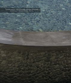 Medan Charcoal pool from Island Stone