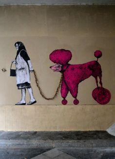 Domenica in strada: Levalet L'arte della poesia metropolitana