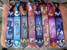 RaptorART Pony ties V. 6 by raptor007.deviantart.com on @deviantART
