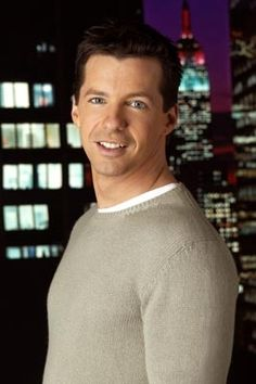 Sean Hayes - American actor, best known for his role of Jack on TV's Will and Grace. Famous Celebrities, Celebs, Will And Grace, Face Men, Comedy Tv, Great Tv Shows, Good Looking Men, Hollywood Stars, Funny People