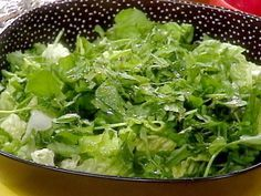 Watercress Salad with Lime Dressing recipe from Rachael Ray via Food Network