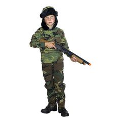 "Kids-Army.com - ""Wabbit"" Hunter Costume, $49.99 (http://www.kids-army.com/shotgun-with-red-ejecting-shells/)"