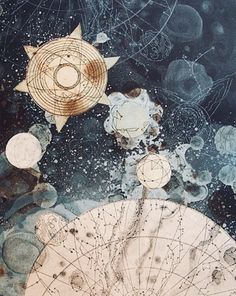 """wraithlings: """" Celestial Mapping and Celestial Proportions by Tallmadge Doyle """" Oh these are beautiful! Ravenclaw, Tarot, Art Journal Pages, Constellations, Hogwarts, To Infinity And Beyond, Grafik Design, Oeuvre D'art, Art Inspo"""
