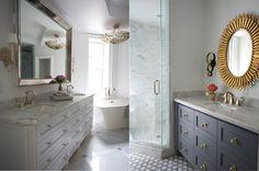 Lux Baths via Meredith Heron Design, Madison