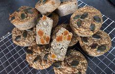 Muffins sans sucre à l'avoine et fruits secs