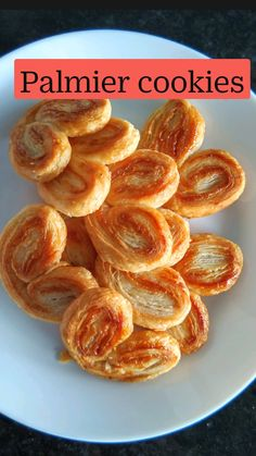 Puff Pastry Recipes, Cookie Recipes, Dessert Recipes, Easy Desserts, Delicious Desserts, Yummy Food, Fall Recipes, Sweet Recipes, Palmier Cookies