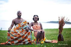 African Sweetheart: Traditional Weddings Ghana: Kente Wedded Bliss - #ghana #traditional #wedding