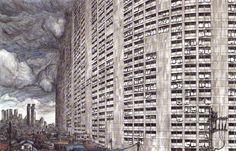 Tsutomu Nihei, nacido en Japón en 1971, siempre tuvo una gran aficiónal dibujo y este hecho lo llevó a estudiar arquitectura. Su etapa de estudiante influenciómuchísimola calidad del dibujo en l…