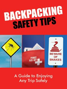 Backpacking safety tips (online booklet for travel backpacking, not trails)