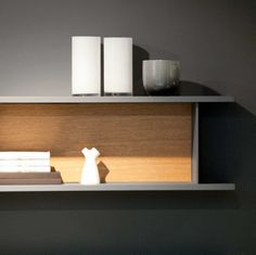 Poggenpohl Diamond Grey Kitchen - Shelves System