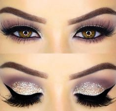 Trickiest part of the makeup is getting the eyeliner right at one go. Here are 5 easiest tricks on how to apply eyeliner that you haven't heard before. Bobbi Brown Lidschatten, Urban Decay Lidschatten, Cute Makeup, Prom Makeup, Gorgeous Makeup, Unique Makeup, Amazing Makeup, Pretty Makeup Looks, Makeup 2018