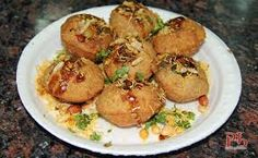 Golgappa Bhel Puri Recipe- Learn how to make Golgappa Bhel Puri step by step on Times Food. Find all ingredients and method to cook Golgappa Bhel Puri along with preparation & cooking time. Indian Desserts, Indian Snacks, Indian Food Recipes, Indian Sweets, Puri Recipes, Snack Recipes, Cooking Recipes, Bhel Puri Recipe, Recipe Master