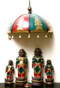 Ethnic Home Decor, Indian Home Decor, Diy Arts And Crafts, Home Crafts, Indian Home Interior, Indian Dolls, Indian Crafts, Pooja Rooms, Newspaper Crafts