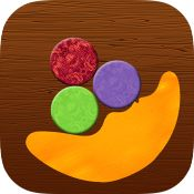 """Exciting """"floor game"""" we play with our kids now in your pocket!   Keep the balance of a woode"""
