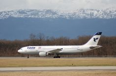 Iran Air - Airbus A300 credit: Aero Icarus #flights #Iran #TravelToIran #travel