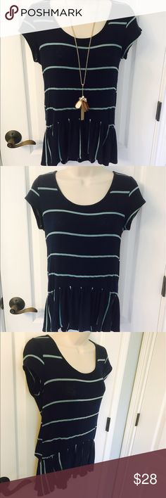 ❤ NWOT Altar'd State Navy and Mint Green Top! 🎉 ❤ NWOT Altar'd State Navy and Mint Green Top! 🎉.  This is so cute and trendy! Bought from Altar'd State, the brand is Vintage Havana.  Made in the USA! 😀 Vintage Havana Tops