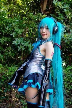 #cosplay #hatsunemiku #vocaloid